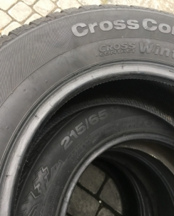 215/65R16 Continental ContiCrossContact Winter. Фото 9