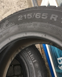 215/65R16 Continental ContiCrossContact Winter. Фото 8