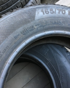 165/70R14 Continental ContiWinterContact TS 850. Фото 6