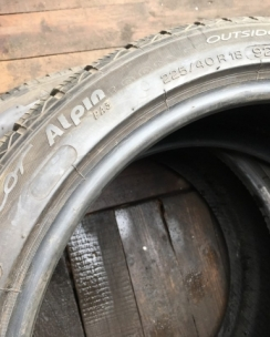 225/40R18 Michelin Pilot Alpin PA3. Фото 8