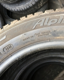 185/60R15 Michelin Alpin A4. Фото 9