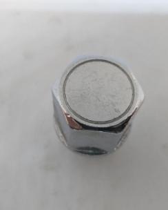 Гайка закрита 12x1.25x33 конус з виступом кл.21 хром. Фото 3