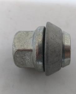 Гайка відкрита FORD 12x1.5x28 конус кл.19 цинк. Фото 3