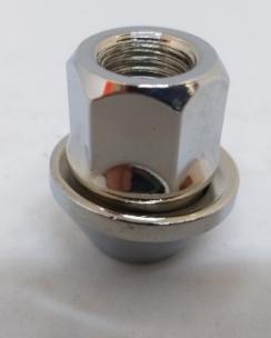 Гайка відкрита FORD 12x1.5x30 конус кл.19 хром