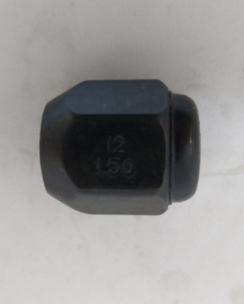Гайка закрита 12x1.5x23 конус кл.19 чорна. Фото 3