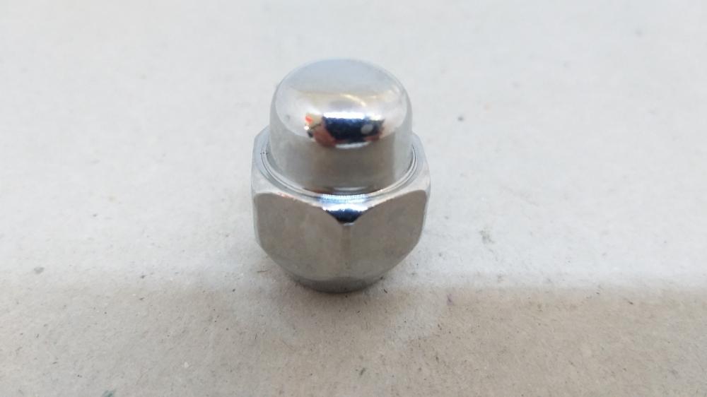 Гайка закрита HYUNDAI/KIA 12x1.5x27 конус кл.21 хром