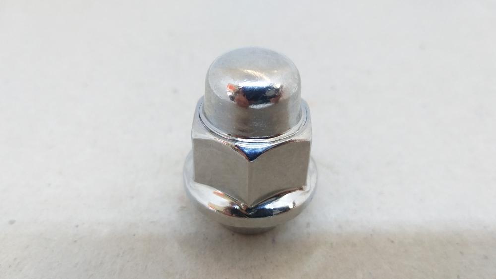 Гайка закрита HYUNDAI/KIA 12x1.5x35 конус кл.21 хром