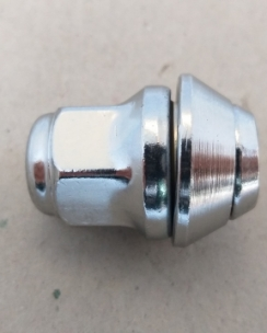 Гайка закрита FORD 12x1.5x35 конус кл.19 хром. Фото 3