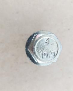 Болт колісний 12х1.25х33 конус кл.17 цинк. Фото 5