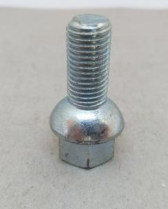 Болт колісний 12х1.5х26 сфера кл.17 цинк. Фото 3