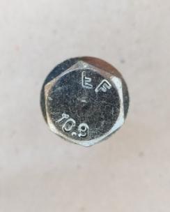 Болт колісний 12х1.5х40 сфера кл.17 цинк. Фото 6