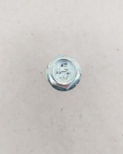 Болт колісний 12х1.5х50 сфера кл.17 цинк. Фото 5