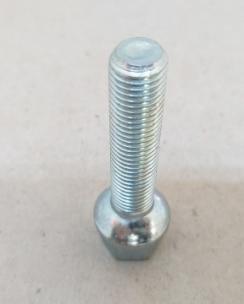 Болт колісний 12х1.5х55 сфера кл.17 цинк. Фото 6