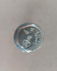 Болт колісний 12х1.5х65 сфера кл.17 цинк. Фото 6