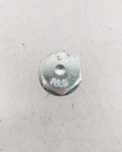 Болт колісний 14х1.5х30 конус кл.17 цинк. Фото 5