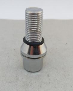 Болт колісний 14х1.5х28 ексцентрик конус кл.17 хром. Фото 2