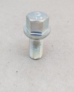 Болт колісний 14х1.5х28 сфера кл.17 цинк. Фото 4