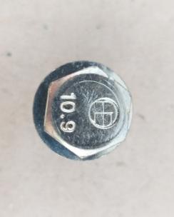 Болт колісний 14х1.5х30 сфера кл.17 цинк. Фото 5