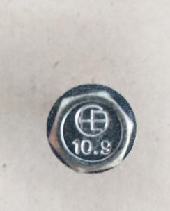 Болт колісний 14х1.5х35 сфера кл.17 цинк. Фото 7