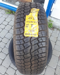 215/65R15 Continental Contact CT22. Фото 2