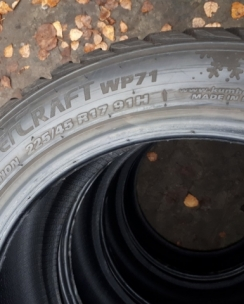 225/45R17 Kumho WP71 WinterCraft. Фото 9
