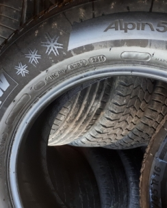 215/65R16 Michelin Alpin 5. Фото 7
