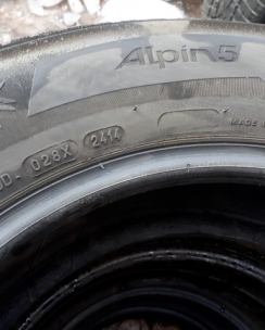 215/65R16 Michelin Alpin A5. Фото 8