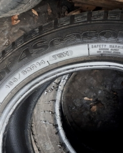 165/60R14 Goodyear Vector 4 Seasons. Фото 7